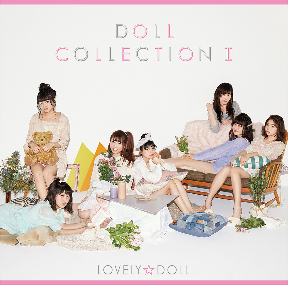 LOVELY☆DOLL「DOLL COLLECTION Ⅱ」CD Jacket
