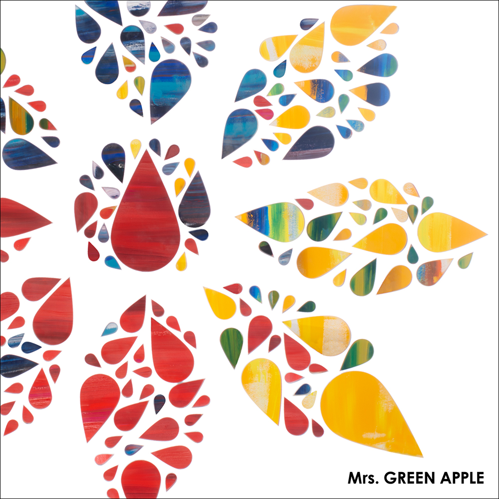 Mrs. GREEN APPLE「僕のこと」CD Jacket