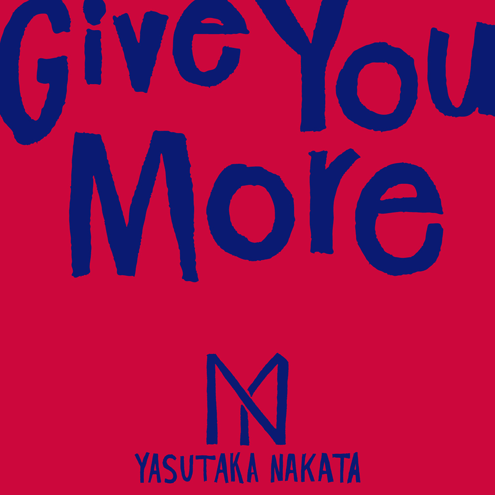 中田ヤスタカ「Give You More」CD Jacket